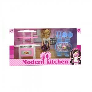 """Кухня и кукла """"Modern kitchen"""""""
